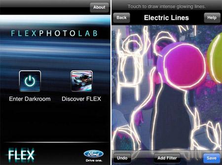 flex photo lab Brand Marketing via Iphone Apps
