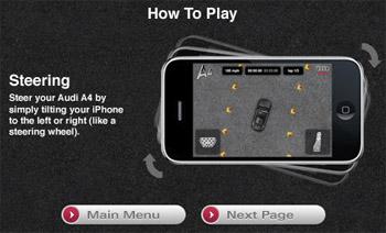 iphone audi Brand Marketing via Iphone Apps