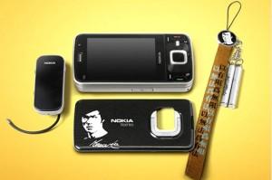 nokia n96 bruce lee accessories 300x199 Nokia N96 Bruce Lee Edition