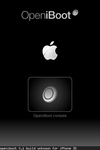 openiboot Linux am IPhone