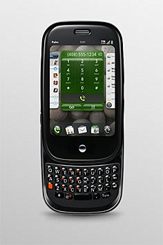 palmpre side Neu Smartphone Plattform von Palm