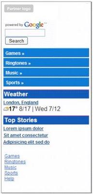 portal home Google started Werbung in mobilen Suchergebnissen