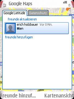screenshot0011 Google Latitude: Freunde orten leicht gemacht
