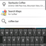 coffee 150x150 Quick Search Box in Android 1.6