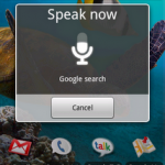 speak now 150x150 Quick Search Box in Android 1.6