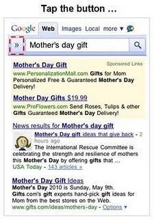 screenshot 1a Neuer Look für die mobile Google Suche