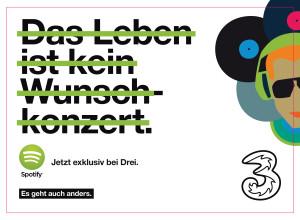 Drei Spotify Kooperation 300x220 Spotify und Drei starten das andere Musik Angebot für Österreich